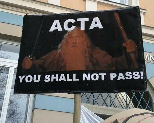 Acta You Shall Not Pass