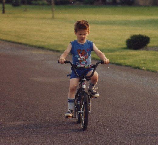 Riding My Bike Awesome1