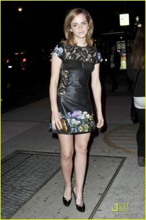 Emma watson london show rooms 13