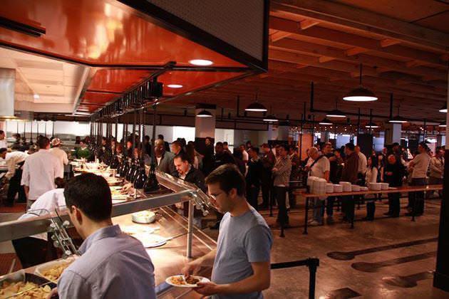 13 inside facebookb Inside the new Facebook headquarters