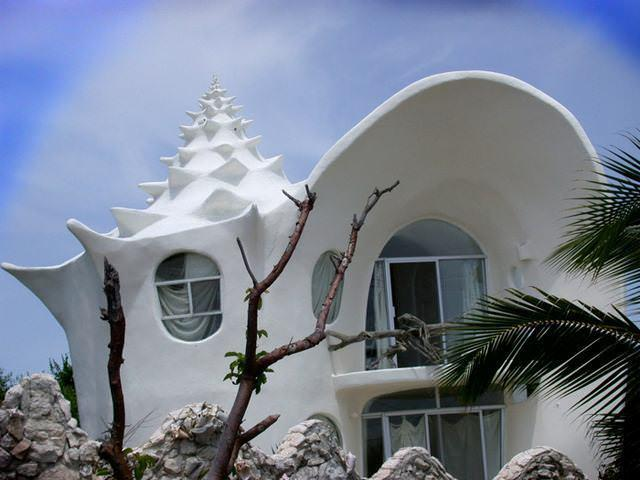 19 33 worlds top strangest buildings conch shell house isla mujeres1