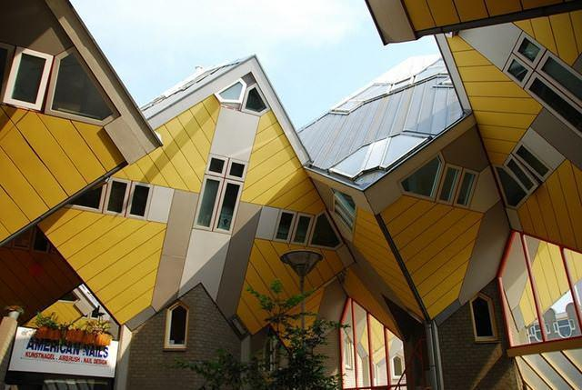 22 33 worlds top strangest buildings cubic houses