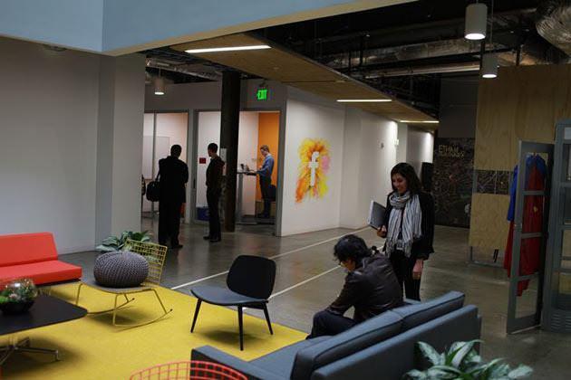 24 inside facebookb Inside the new Facebook headquarters