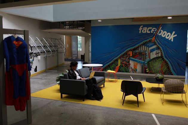 26 inside facebookb Inside the new Facebook headquarters