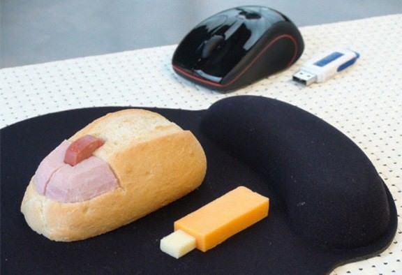 Computer Mouse 576x394 The art of the sandwich (14 pics)