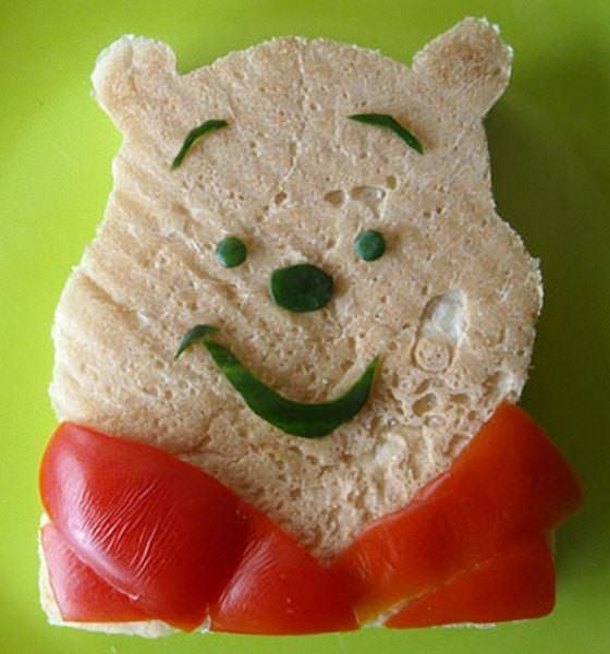 Winnie The Pooh 576x617 The art of the sandwich (14 pics)