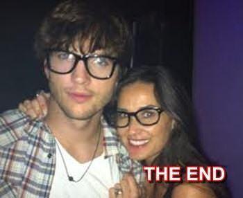 Demi morre files for divorce from ashton kutcher