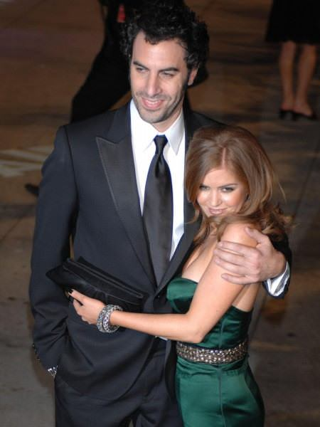 Sacha baron cohen and isla fisher secret wedding plans