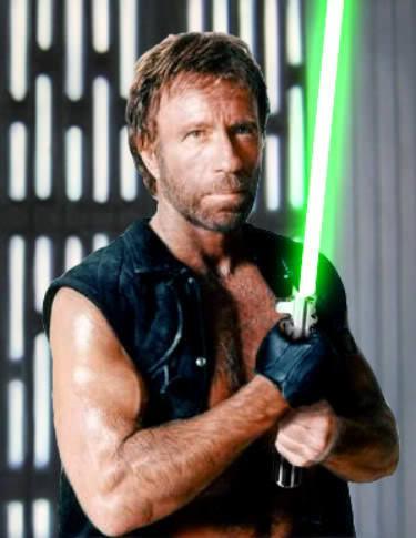 Chuck Norris Jedi Master