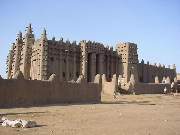 Great Mosque Djenne Mali 600x450