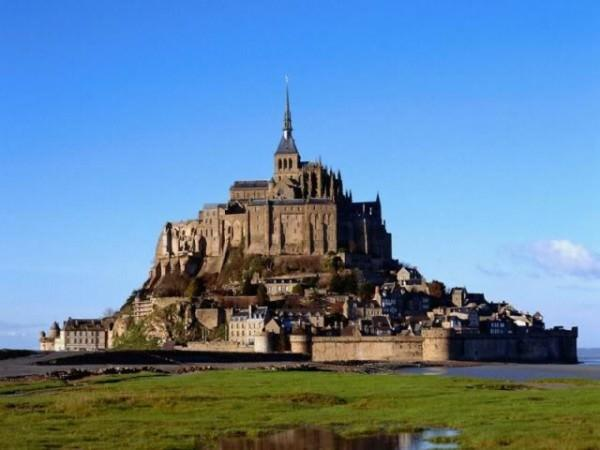 Mont St. Michel Normandy France 600x450