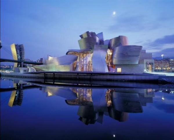 The Guggenheim Bilbao Spain 600x481