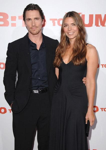 Christian Bale Wife Sibi Blazic Expecting