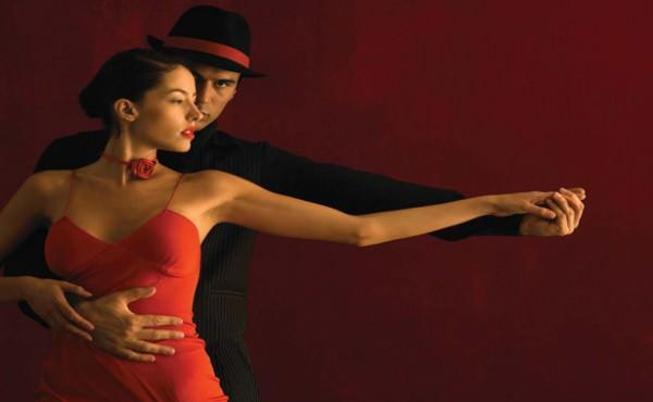 Pantone Tangerine Tango Dancers Frederic Cirou Corbis