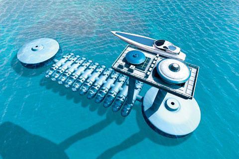Undersea Ss Surfaced