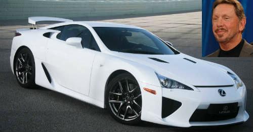 """Δείτε τι αυτοκίνητο οδηγούν οι 10 ισχυρότεροι """"geeks"""" του κόσμου"""