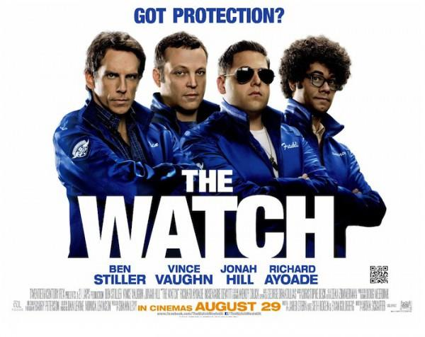 The Watch Quad Poster