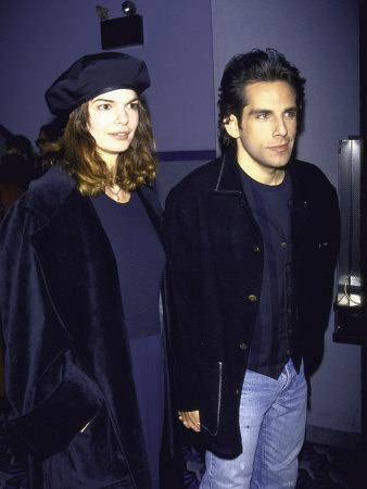 Actress Jeanne Tripplehorn And Boyfriend Actor Ben Stiller