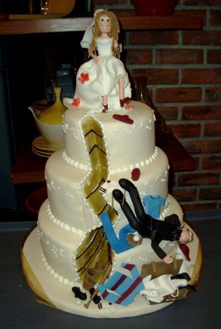 Divorce Cakes 25