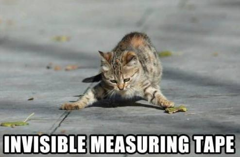 Invisible Measuring Tape Funday.gr