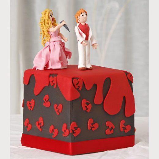 Novelty Divorce Cake
