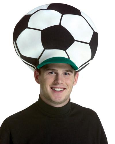 59370xcitefun Soccer Ball Crazy Hat