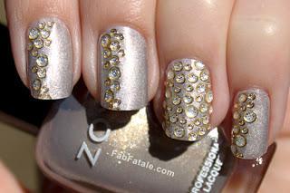 Crystalembellishedmanicurenails Apw+nyxia+me+sxedia