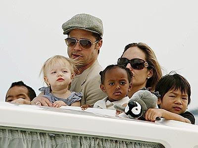Kids Of Angelina Jolie And Brad Pitt