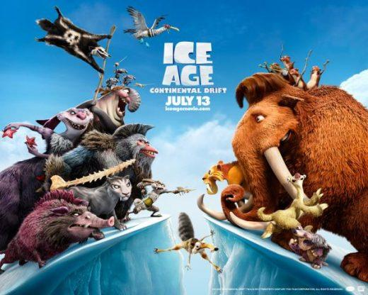 Ice Age 4 Continental Drift Poster Ice Age 4 30601567 600 480