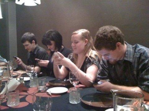Get Together In A Restaurant