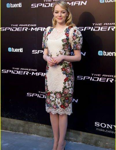 Emma Stone Andrew Garfield Spider Man Spain Premiere 06 684x1024