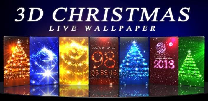 3d christmas live wallpaper fr