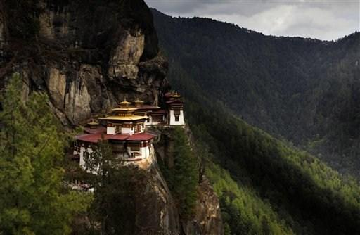 Μοναστήρι Paro Taktsang (Manish Swarup/AP Photo)