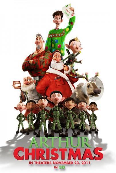 600full Arthur Christmas Poster