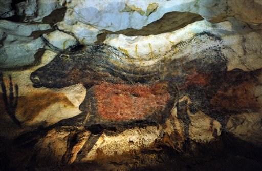 Βραχογραφίες στις σπηλιές Λασκό (Pierre Andrieu/Pool/AP Photo)