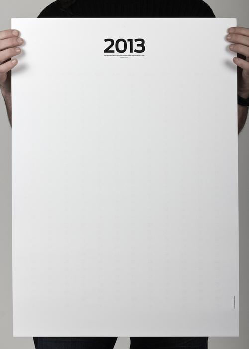 Blank Poster Cal 23