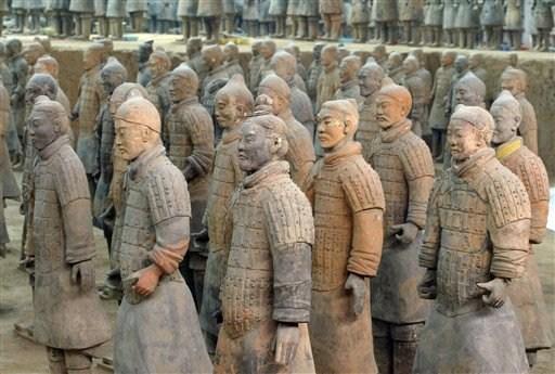 Ο πήλινος στρατός του Κιν Σι Χουάνγκ ((c) Sergey Ponomarev/AP Photo)
