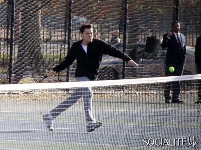 Leonardo Dicaprio Tennis Court 11142012 09 400x300