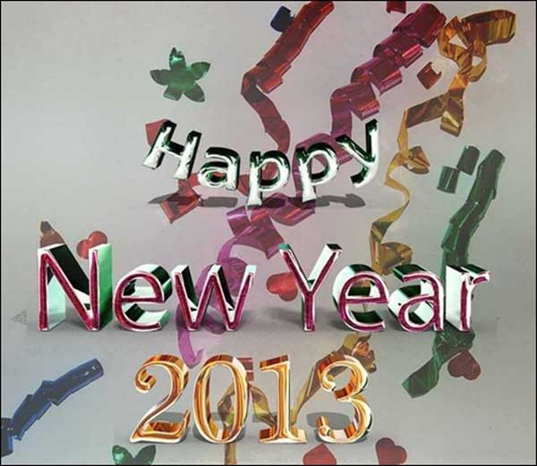 New Year Wallpaper for 2013