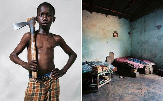 children-sleep-african