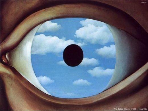 The False Mirror Rene Magritte 1928
