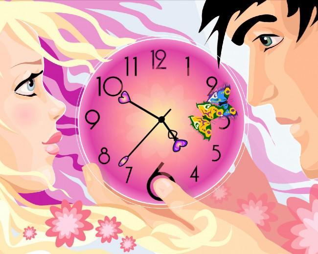 122165sweet-love-clock