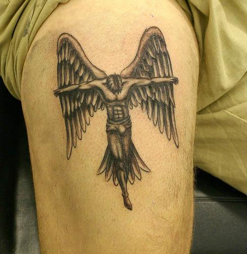 Chris Wing Tattoo