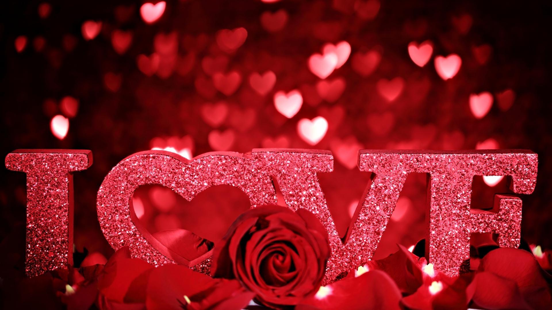 Roses I Love You Wallpaper