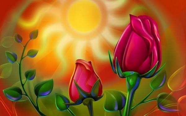 The Best Top Desktop Roses Wallpapers Hd Rose Wallpaper 49 3d Pink Red Roses Wallpaper 600x375