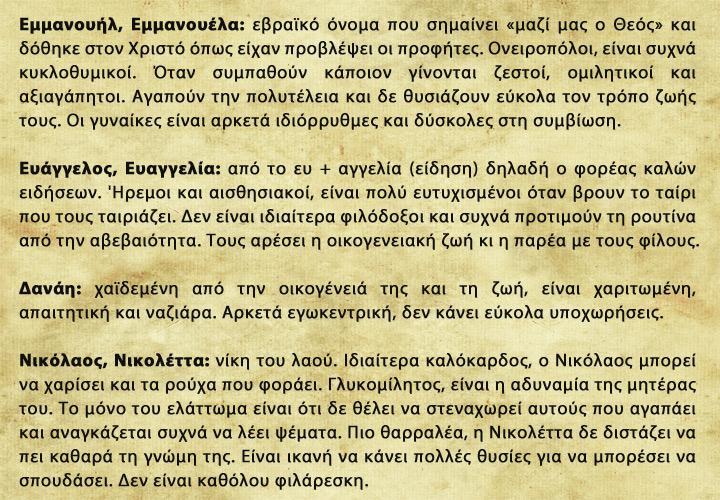 Greek-Names