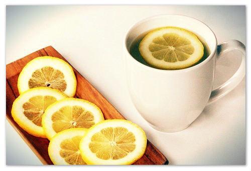 Lemon Hot Water