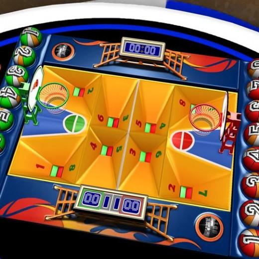 Basketball Duel ένα εθιστικό επιτραπέζιο μπασκετάκι ταμπλέτας για δύο παίχτες